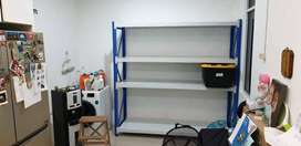 Rak File , Rak Bengkel , Rak Gudang Kap.250 kg perlevel T 200 CM