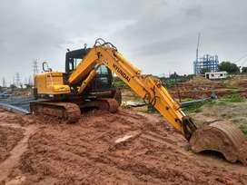 Hyundai R 80 Excavator or Poclain
