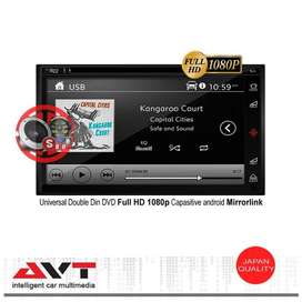 AVT SD 6809 Pad Head Unit Double din Tape Audio Mobil DVD Full HD 108