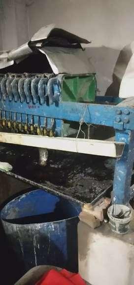 Mustard oil filter machine