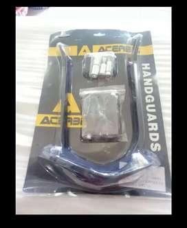 Handguard KLX crf acerbis besi hitam barang baru cocok trail