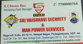 Required Yong and Dinymic Male Security Guards