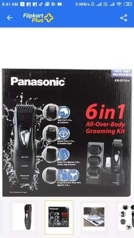 Panasonic 6 in 1 all over body grooming kit