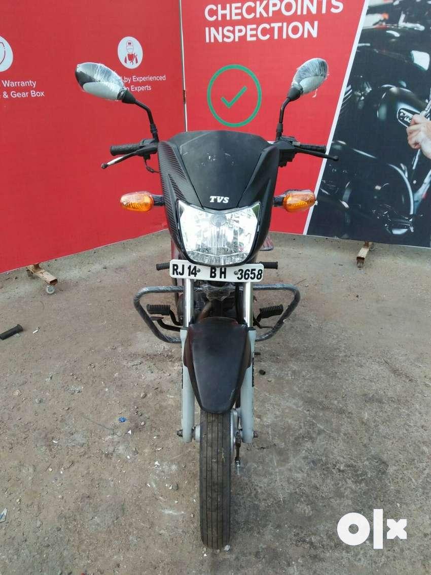 Good Condition TVS StarCity Std with Warranty |  3658 Jaipur 0