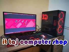 HIGH END i3 CPU+MONITOR+KBNM+W10+DEALER PRICE OF 11700//LOCKDOWN OFFER
