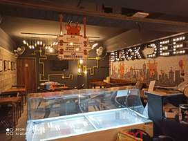BLACKDEER cafe Ice cream waffles