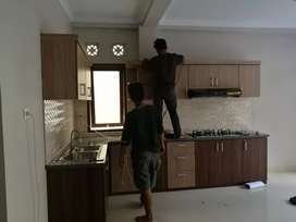 Interior Kitchen Set Minibar Lemari Backdrop Nakas Kamar Set Meja Rias