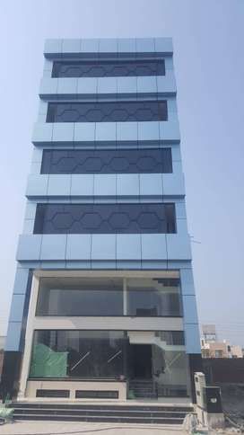 Newly constructed building at DHA EME