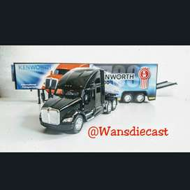 Dijual Diecast Kenworth T700 With Container By Kinsmart