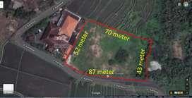Tanah View Lembah Suasana Pedesaan Cocok utk Villa Harga dibawah NJOP