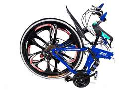 BMW 21 GEARS FOLDABLE BICYCLES  IN ALL COLOURS