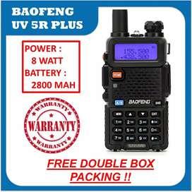 HT BAOFENG UV5R 2800 MAH UV 5R UV-5R 8 W VHF UHF Dualband Dual band