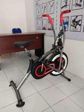Sepeda statis dan dinamis platinum bike motif 123