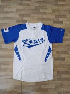 Korea baseball team white