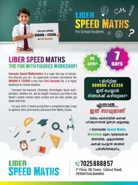 Speed Maths online workshop