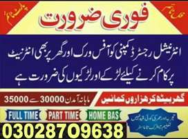 Part time, full time,home base, (Students /teachers) Males & female