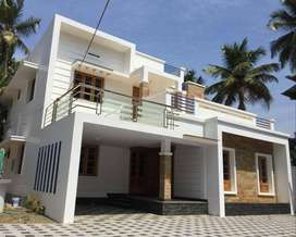AN ELEGANT NEW 4BED ROOM 8CENTS 2250SQ FT HOUSE IN PALAKKAL,TSR