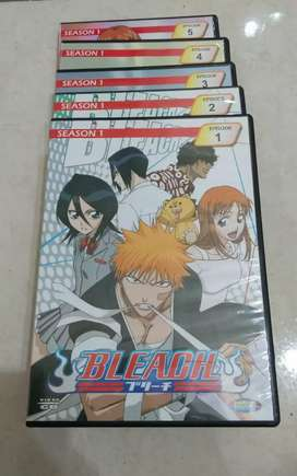 VCD player kartun anak2 ori judul BLEACH , no 1--5 .