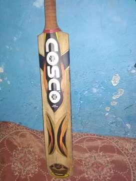 Cosco kashmiri willow bat and adidas bat