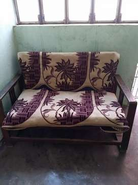 Sofa Set (Sagwan wood)