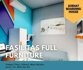 Rumah kost mewah Full Furniture di Suhat Kota Malang