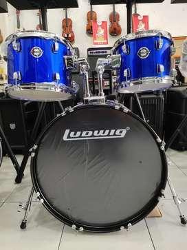 Drum Ludwig 1 Set Kondisi Baru
