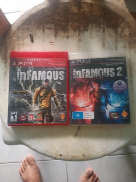 Bd ps3 infamous collection