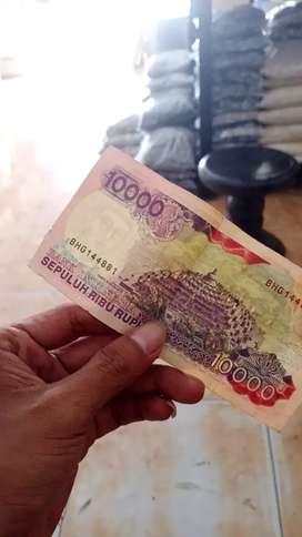 uang kertas sepuluh ribu lama