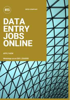 We need to get some employees for data entry jobs online from home