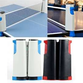 Portable Table Tennis Net Table Grid Plastic Strong Mesh