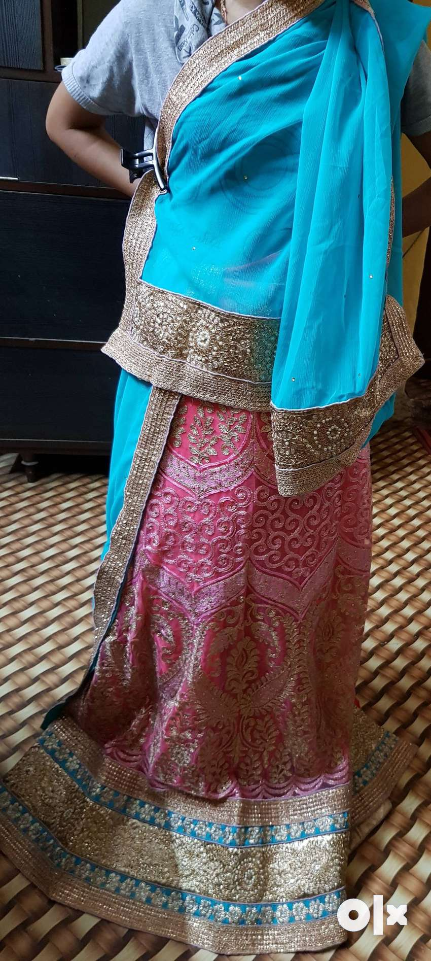 Unstiched and new Lehenga 0