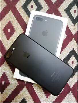 Apple iPhone 7 Plus (Black, 32 GB) (5 month used)