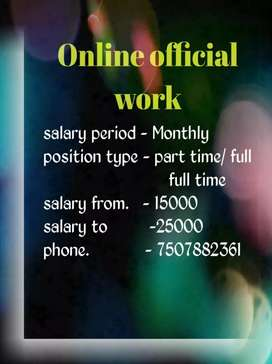 Online official work