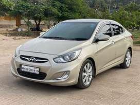 Hyundai Verna Fluidic 1.6 CRDi SX Opt Automatic, 2011, Diesel