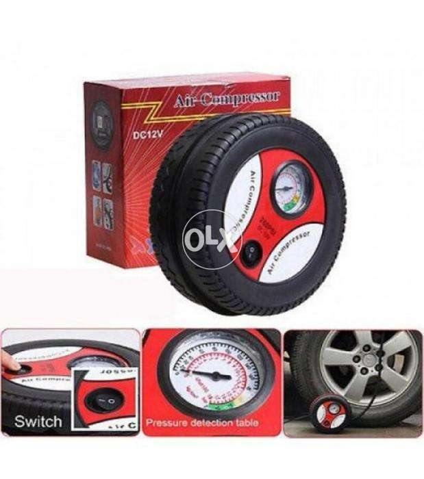 12V Brand new Air PUMP Tire Shape for Car tire-FREE delivery to all PK 0