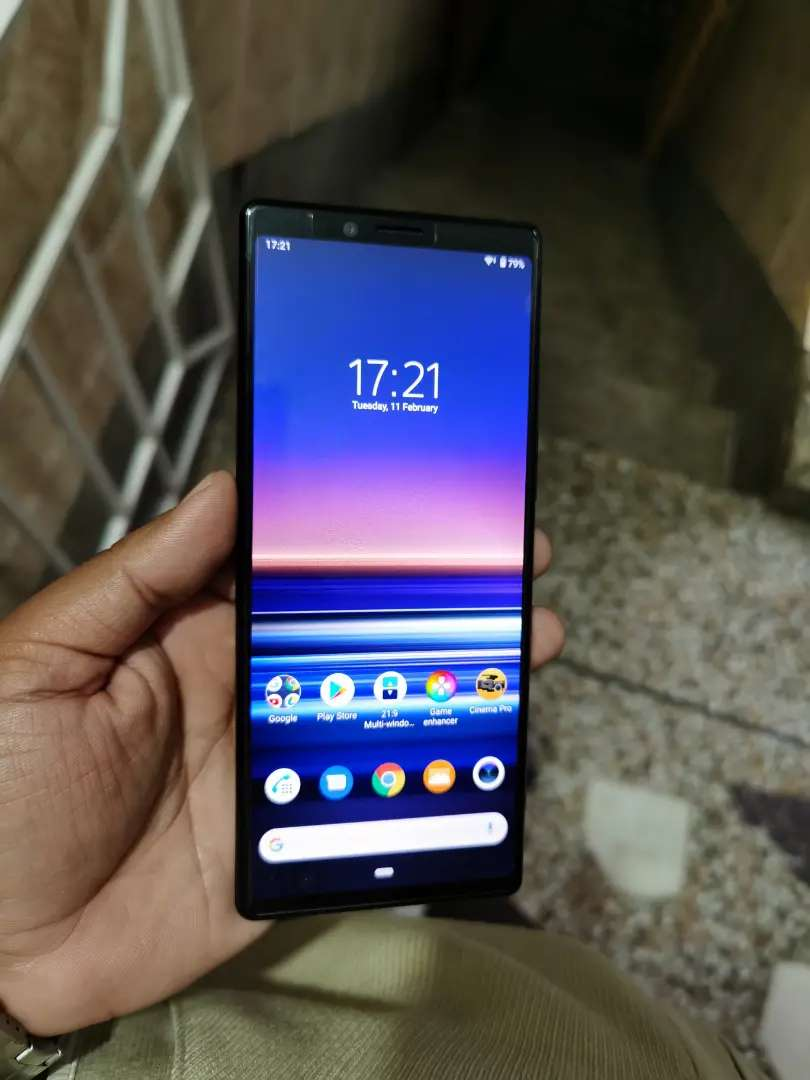 Sony xperia 1 6gb 128gb complete box pta approved 0