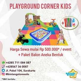 Paket Mini Playground untuk acara ultah, pernikahan, dll
