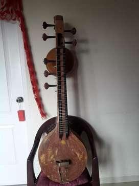 Saraswathy veena.semi carved