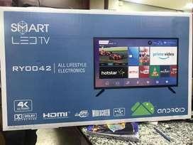 "40"" smart 4k LED TV offer"