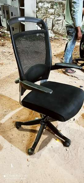 High back office mesh chairs