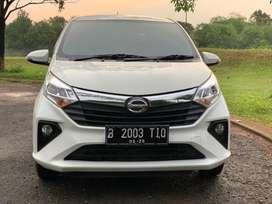 Daihatsu Sigra R AT 2020 Putih Matic Automatic