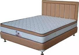 Ukuran 160x200 spring bed full set.pakai pillowtop