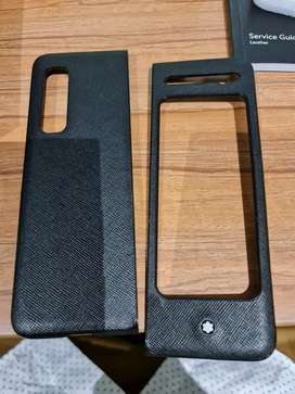 Samsung Galaxy Fold 1 Leather Case Montblanc Original