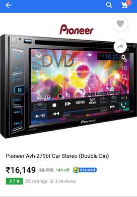 Pioneer AVH279BT with TS-S20 complimentry