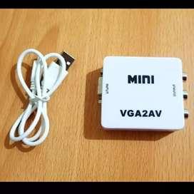 Converter video VGA to AV RCA