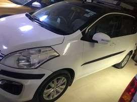 Ertiga zdi + low milage car good condition white colour
