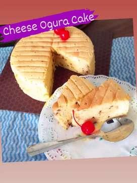 Cheese Ogura Cake mantulllll enakk