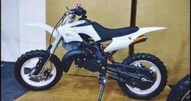 Kids dirt bike 50cc petrol ( emi available)