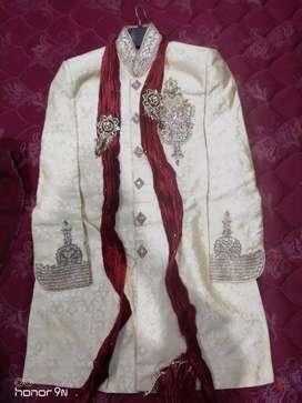 Wedding sherwani with trouser