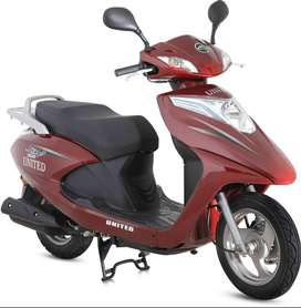 united scooty scooter 100 100cc